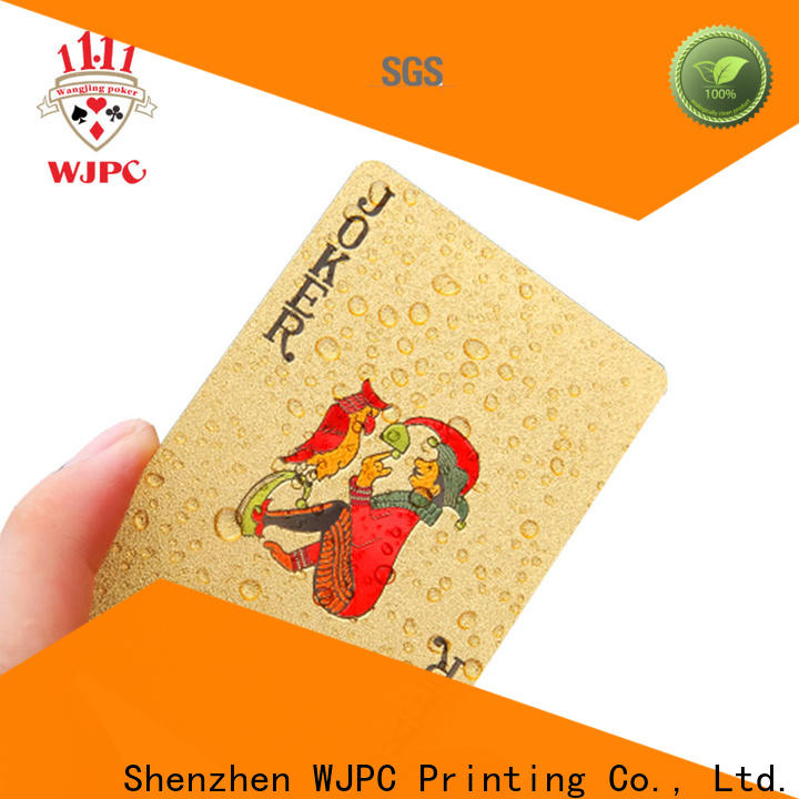 Best plastic casino cards plastic factory for board game
