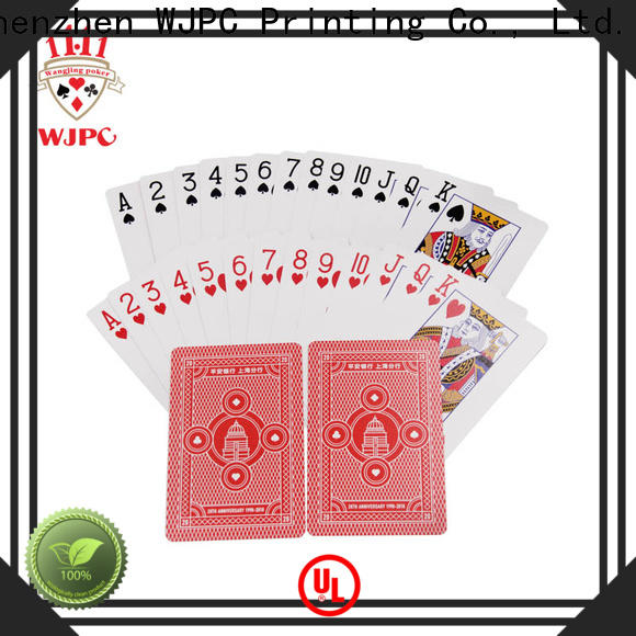 WJPC customized plastic game cards Supply for party
