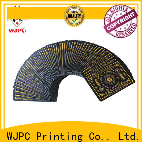 WJPC High-quality make your own bicycle cards factory for casino show