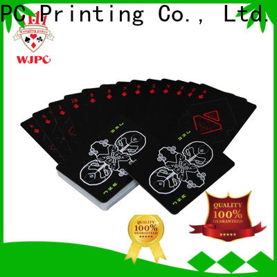 WJPC high-quality plastic bridge cards for business for bar