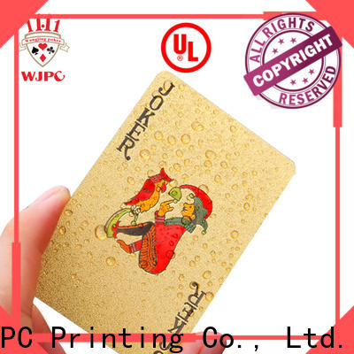 customed personalised playing card set playing for business for party