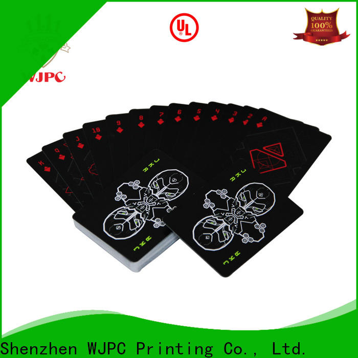 WJPC popular plastic poker cards for sale manufacturers for kindergarten