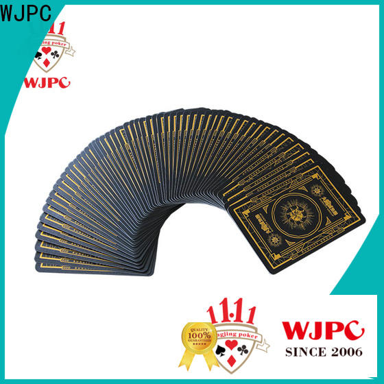 WJPC High-quality buy cards poker Supply for casino show