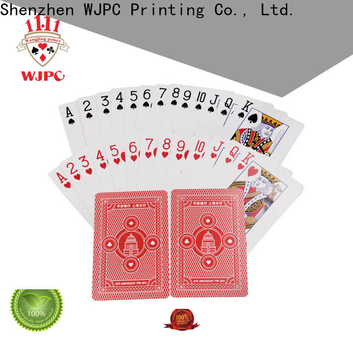WJPC high-qulaity casino poker cards for sale company for casino
