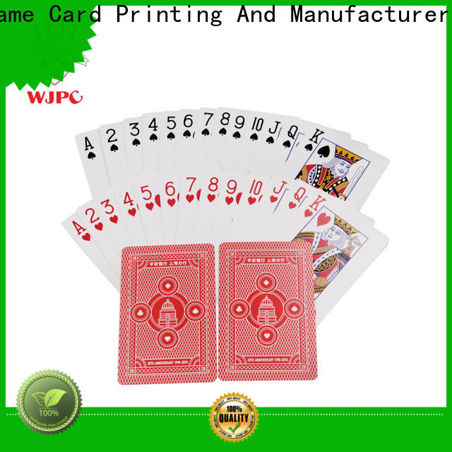 WJPC high-qulaity top quality playing cards manufacturers for game