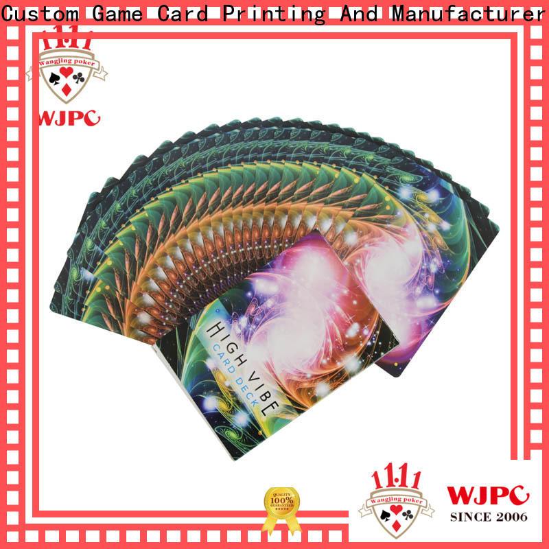 WJPC Custom new age angel cards factory