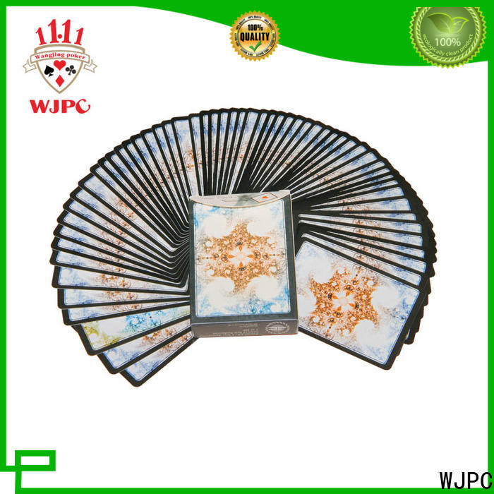 Custom plastic game cards playing Supply