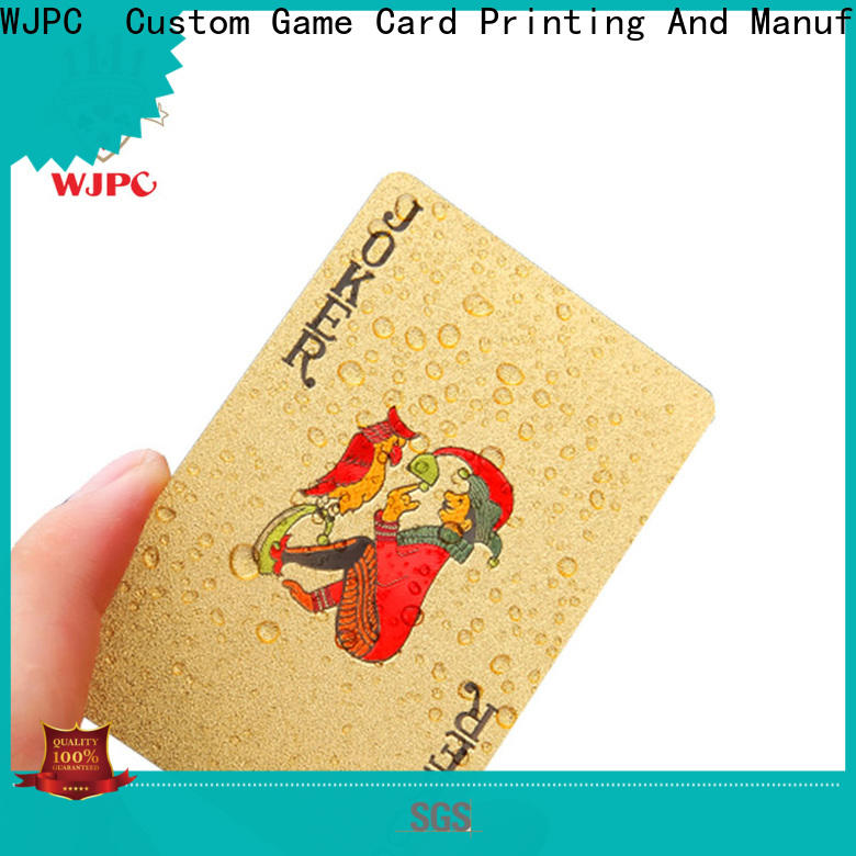 waterproof plastic poker cards sale full Suppliers for party