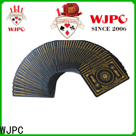 WJPC High-quality cards and poker chips for business for game