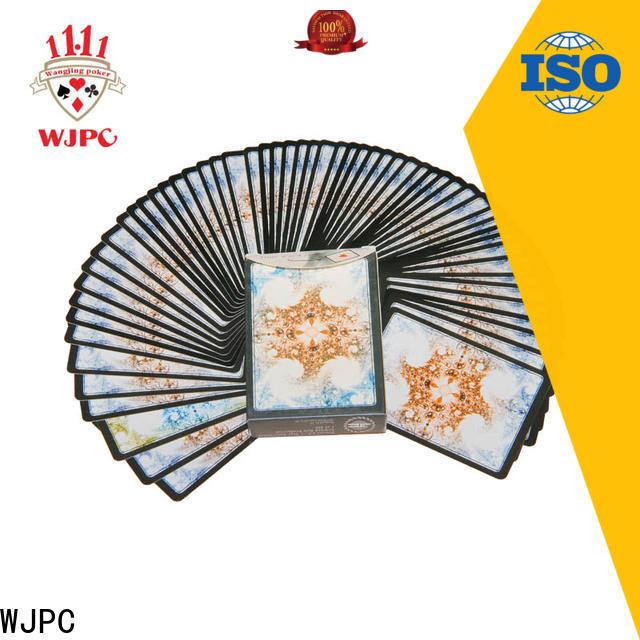WJPC magic magic poker card Supply for board game
