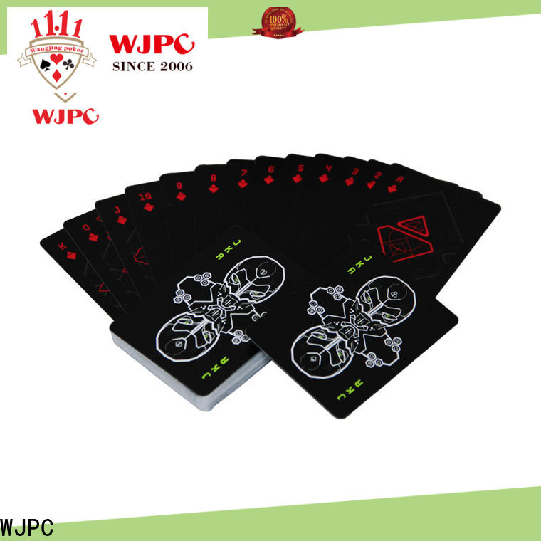 WJPC New best deck of cards for poker company for bar