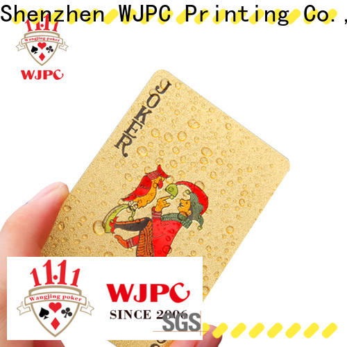 Wholesale bicycle plastic poker cards cards Suppliers for kindergarten