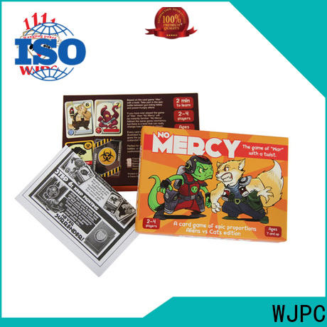 Latest custom board game cards game factory for party
