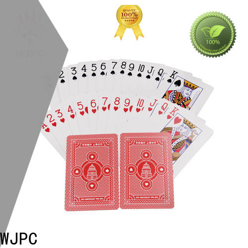 WJPC promotional playing card decks for sale for business for board game