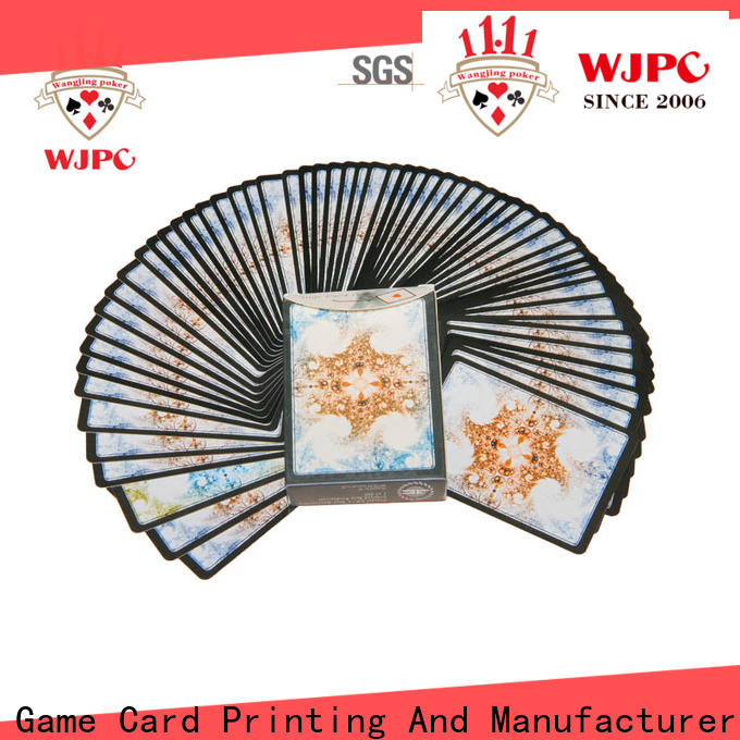 WJPC cards plastic playing cards for sale Supply for magic