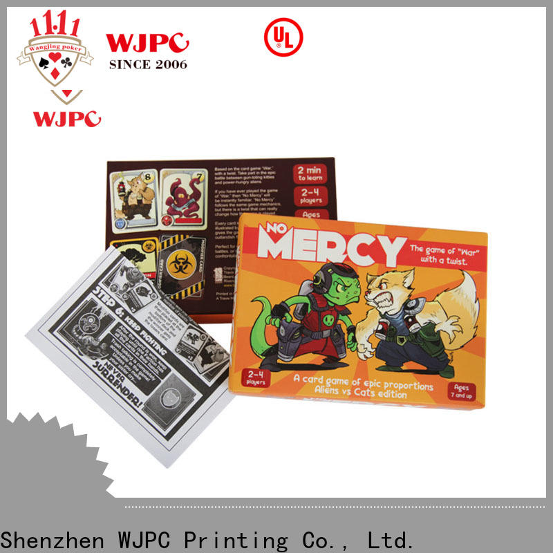 WJPC game manufacturers for board game