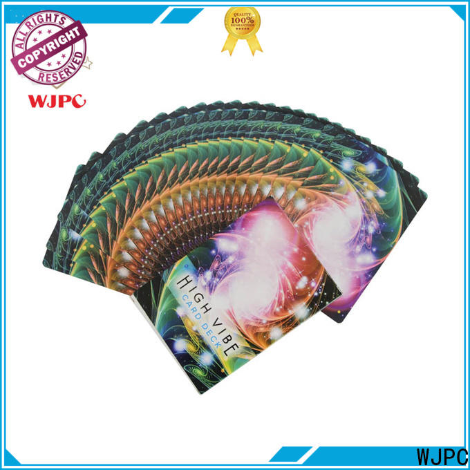 WJPC glossy angel card reading doreen factory for board game