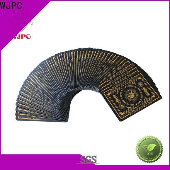 WJPC excellent bulk casino playing cards for business for casino show