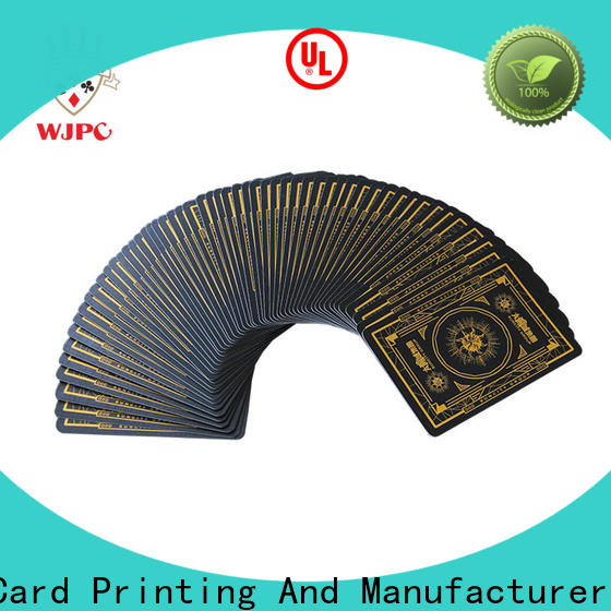 WJPC playing poker gaming supplies Supply for game
