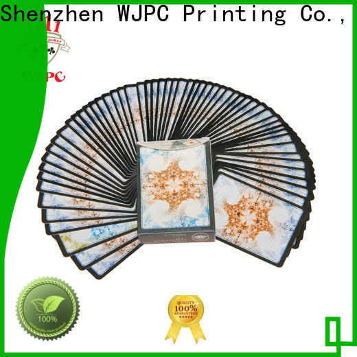 WJPC magic purchase playing cards factory