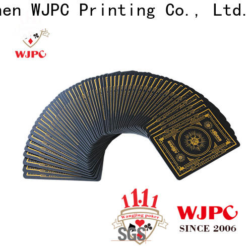 WJPC playing set of poker cards Suppliers for casino show