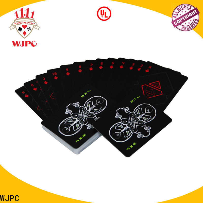 WJPC high-quality best quality playing cards in the world company for kindergarten