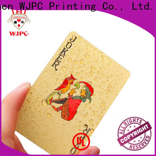Wholesale bicycle cards material cards company for game