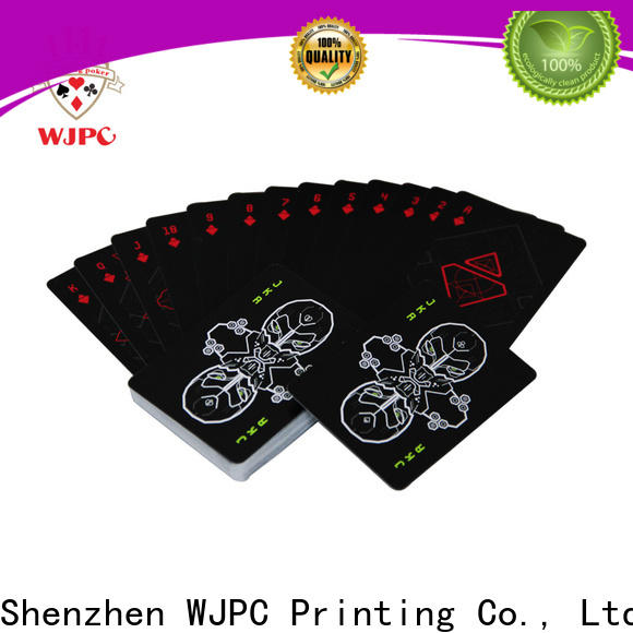 WJPC easy to operate where can you buy bicycle cards factory for party