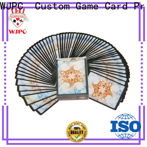 WJPC magic 100 all plastic playing cards factory for children