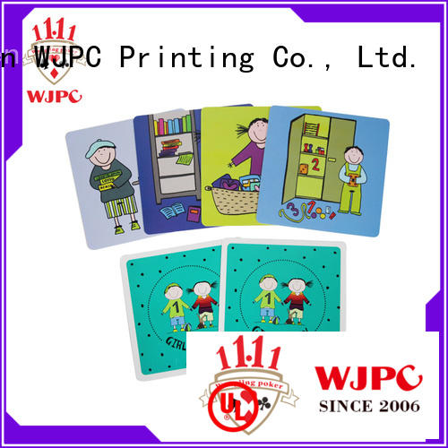 WJPC high-quality learning cards owner for school