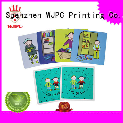 WJPC Top alphabet flashcards for kids Supply for children