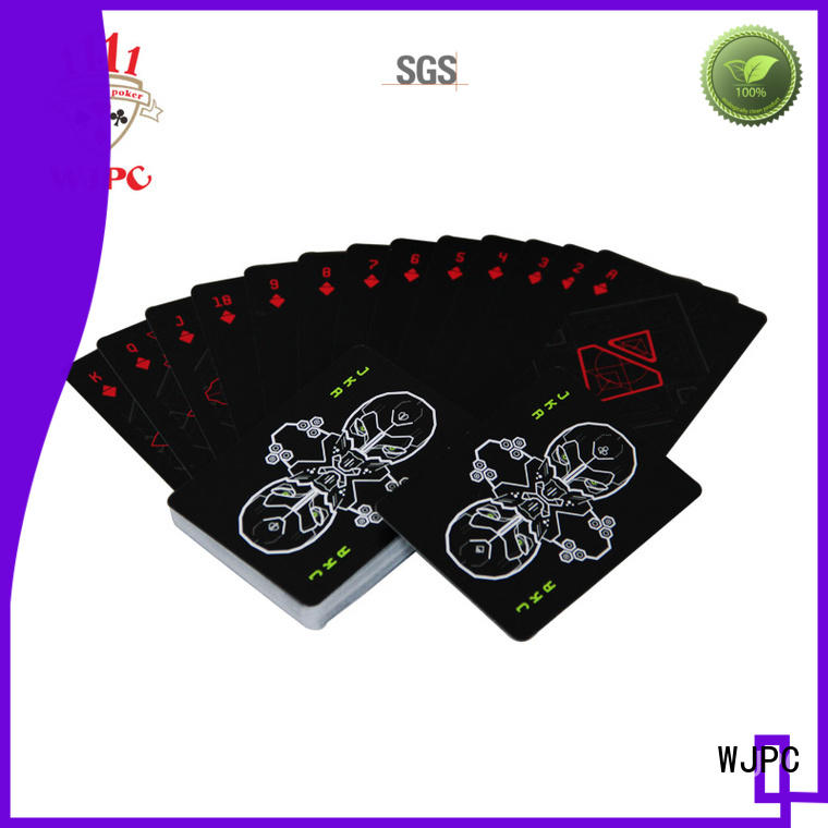 WJPC high-quality cardistry deck for casino