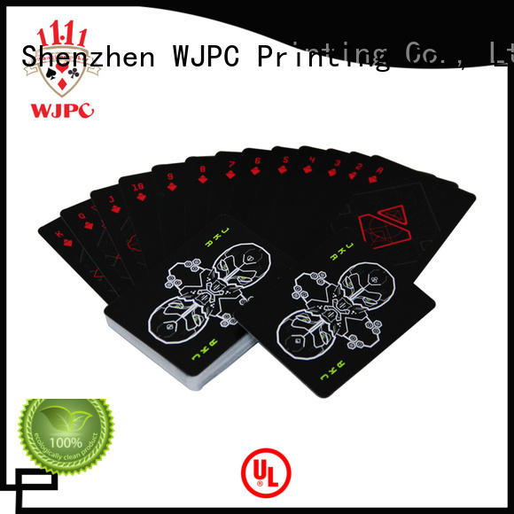 WJPC cardistry best deck of cards for poker factory for game