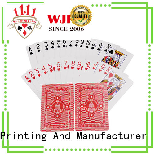 popular playing cards custom printing customized for business for bar