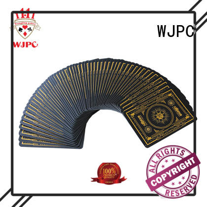 excellent playing card size cards company for game
