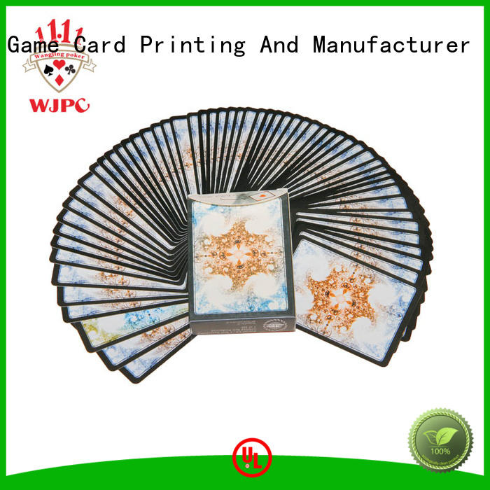 WJPC magic best quality poker cards company for children