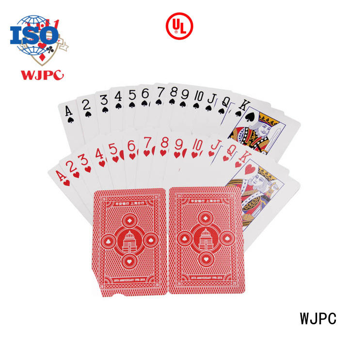 WJPC playing promotional playing card producer for children