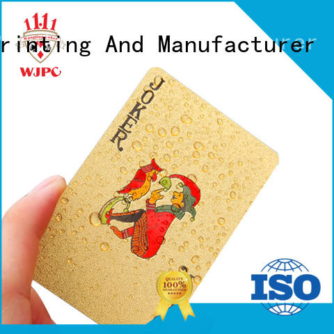 funny the best playing cards brands plastic for business for game