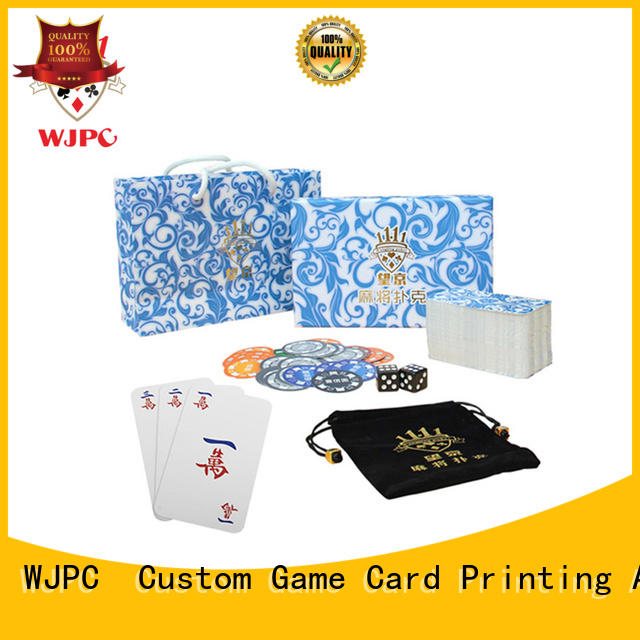 german paper black WJPC Brand print board game cards factory