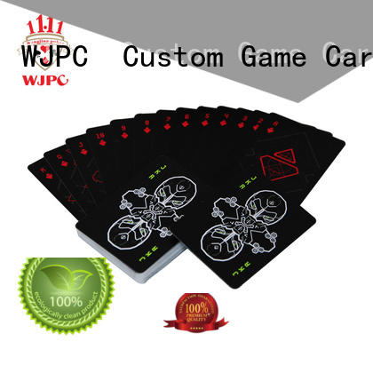 WJPC durable types of playing cards shop now for board game