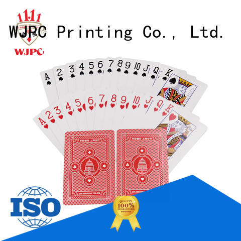 hot sale best quality plastic playing cards printed manufacturers for casino