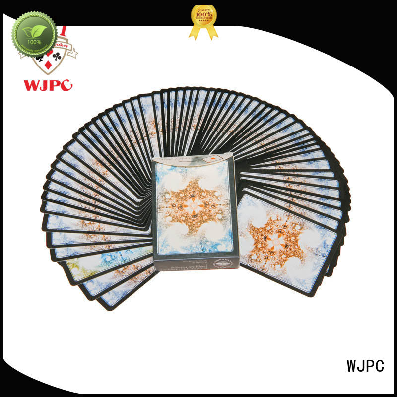 WJPC printing personalised poker cards company