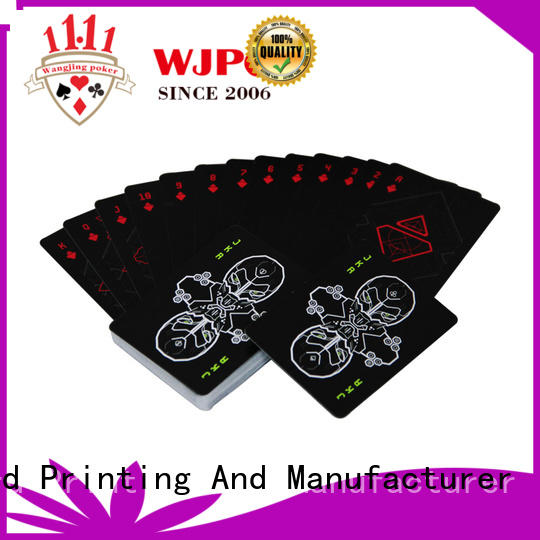 WJPC high-quality cardistry deck customized for kindergarten