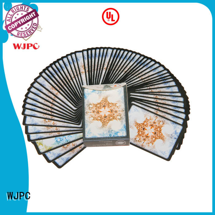 WJPC cards high end poker cards Supply for kindergarten