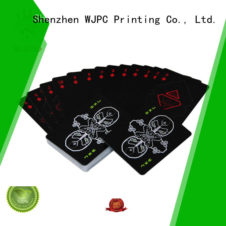 WJPC easy to operate playing card company for board game