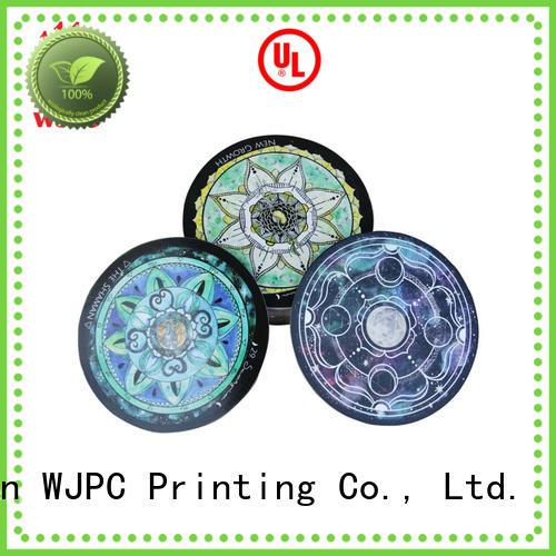 WJPC semi-glossy unique tarot decks manufacturers for divination