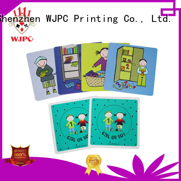 qulity flash card newly for children WJPC