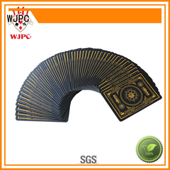 playing professional poker cards cards for game WJPC