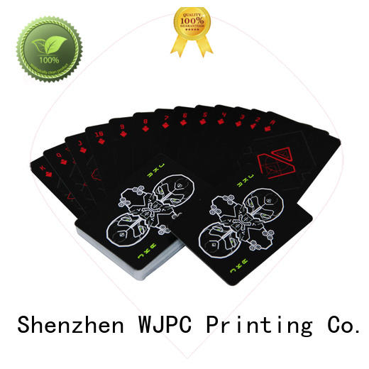 WJPC fashion cardistry decks manufacturing for children