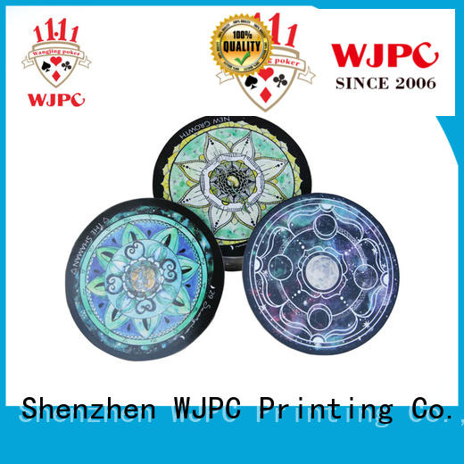 WJPC famous tarot deck customized for divination